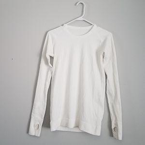 Lululemon white long sleeve